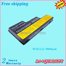 Free shipping 100% New Replacement laptop battery For LENOVO ThinkPad W700 W700 2757