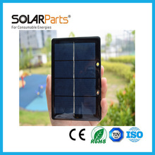 Solarparts 2pcs 2V 600mA 1.2W mini epoxy resin solar panels small size modules mini kits diy cell module system toy led light .