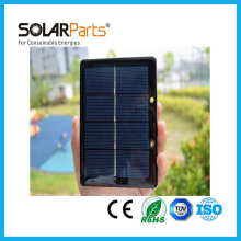 Solarparts 2pcs 2V 600mA 1.2W mini epoxy resin solar panels small size modules mini kits diy cell module system toy led light(China)