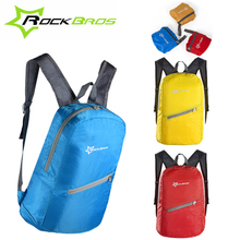 ROCKBROS Cycling Ultralight Waterproof Bicycle Folding Backpack MTB Bike Outdoor Sports Portable Leisure Bag Accessories 3 Color(China)