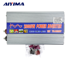 DC12V to AC220V 2000W Pure Sine Wave Power Inverter