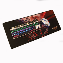 Super large 700x300mm rubber mouse pad computer game tablet mouse pad with edge locking Free Shipping