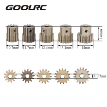 High Quality GoolRC 32DP 3.175mm 12T 13T 14T 15T 16T Pinion Motor Gear Set for 1/10 RC Car Brushed Brushless Motor(China)