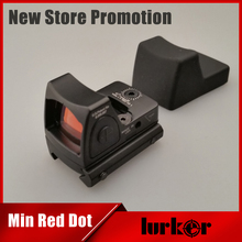 Mini RMR Red Dot Sight Collimator Glock / Shotgun Reflex Sight Scope fit 20mm Weaver Rail For Airsoft / Hunting Rifle