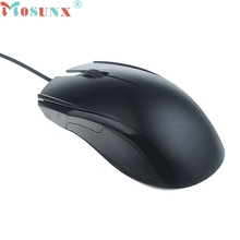 mosunx NEW Mecall For Computer PC Laptop1200 DPI USB Wired Optical Gaming Mice Mouse Whoelsale