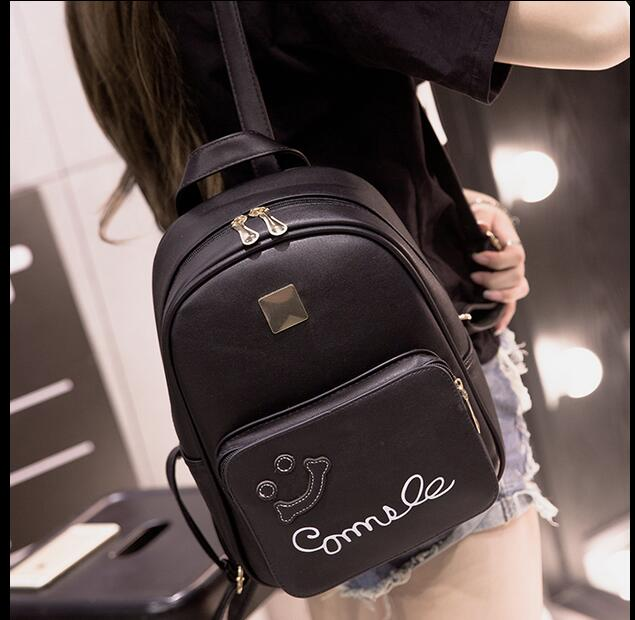 Cute Frog Women Backpacks Preppy Style School Backpacks Funny Quality Pu Leather Fashion Women Shoulder Bag Travel Back<br><br>Aliexpress