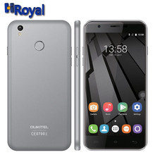 5.5 Inch HD Oukitel U7 Plus 4G LTE Smart phone Android 6.0 MTK6737 Quad Core 2GB RAM 16GB ROM 1280*720 13MP Camera Mobile