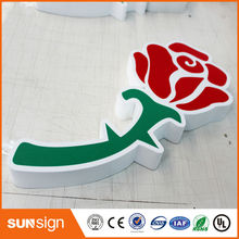 Hot sale storefront advertising acrylic led channel letter signs