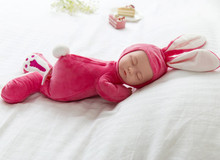 Reborn Baby Doll Sleeping newborn baby speaking Toy sing songs girls toys gift boneca brinquedo(China)