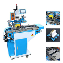 printing area: 120mm customized glasses box substrate hot foil stamping machine for sale