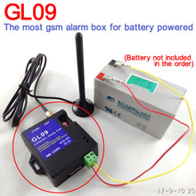 Battery operated 8 channel GSM SMS Alarm box for home alarm system warehouse safety water water level or temperature alarm