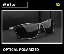 Prescription Sunglasses Men Polarized HMC Lens Grey Brown Green Night Vision Yellow EXIA OPTICAL KD-337