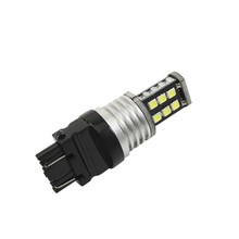 T25 3157 Led Bulbs 15 SMD 2835 LED 3157 Lamp Red White Yellow Canbus T25 Tail Reverse Brake Lights Turn Signal Lamp DC 12v 3W