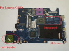 Available Laptop motherboard Fit for Lenovo G550 Notebook pc KIWA7 LA-5082P with card reader 100% Working