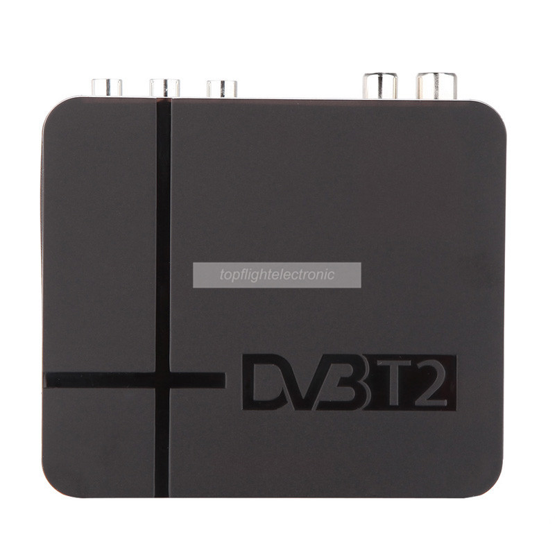 Mini TV box DVB T2 Terrestrial Receiver DVB-T2 MPEG-2/-4 H.264 Support USB/HDMI Set Top Box For RUSSIA/Europe/THAILAND/Columbia(China)