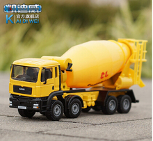 1 PC 17.5cm Device alloy 1:50 alloy mixers cement tanker truck model children gifts