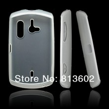 Matte Soft TPU Gel Case Cover for Sony Ericsson Live with Walkman WT19i ,Free Shipping Via DHL