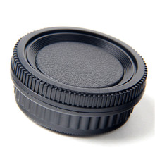 Set of Rear Lens Cover + Camera body Cap fit for all Pentax PK Camera DA126