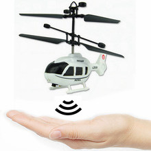 2017 New Factory Price Drop Ship Children Flying Mini RC Infraed Induction Helicopter Aircraft Flashing Light Kid Boy Plane Toy(China)