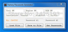 New ET FACTORY PASSWORDS GENERATOR [USB dongle]Support Windows 2003/XP/Vista/7/8/10 for(China)