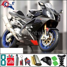 For Aprilia RSV1000R 03 04 05 RSV 1000R 2004 all black Fairing Kit Set Fit For Aprilia RSV1000 R Mille 2003 2005(China)