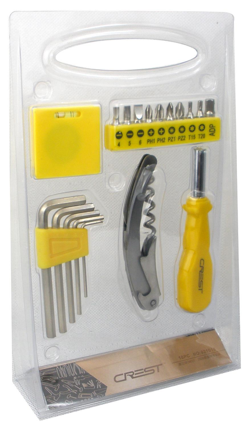 18PCS Electrician Repair Mini Hand Home Tool Kit&amp; Cabinet Auto Home Repair Kit with Free Shipping<br><br>Aliexpress