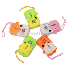 Random Color ! 2016 New Kids Children Baby Learning Study Camera Take Photo Educational Toys For Baby Gils Gift