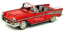 Retro Tin model car 1957 vintage car decoration crafts gifts  Antique classical car model retro vintage