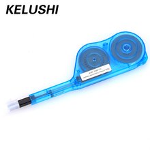 KELUSHI Free Shipping Fiber Tester Accessory,NFC-IBC-MPO Cleaner For Fiber Optic IBC One Click Cleaner for MPO/MTP Connector(China)