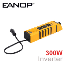 EANOP 300W Car Inverter DC 12V To AC 110V Power Vehicle Voltage 2 USB Power Inversor Adapter Converter Car Universal inverters