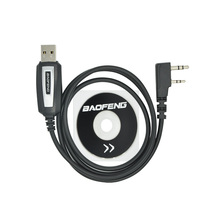 USB Programming Cable for CB Radio Walkie Talkie for BAOFENG UV-5RBF-888S Kenwood WEIERWEI Puxing LT baofeng Accessories