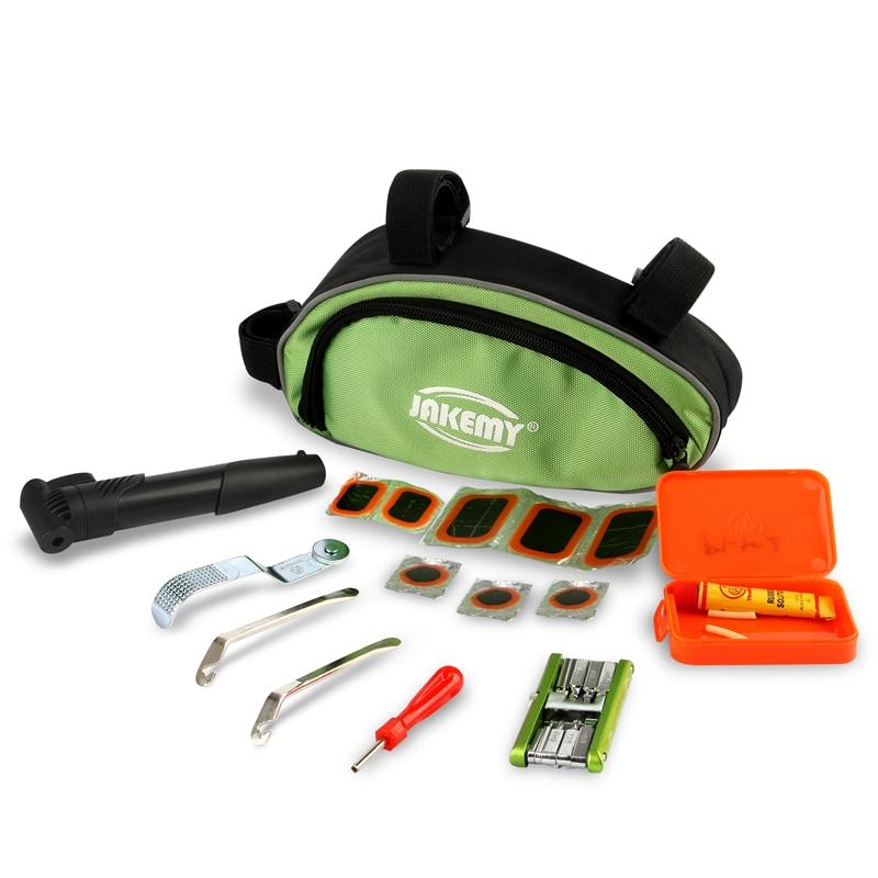 30 In 1 Bicycle Repair Tool Bag Set Screwdriver Wrench Seat Utility Tool Bag For Outdoor Camping Cycling Hand Repair Tools<br>