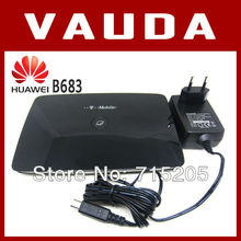 Original Unlocked Huawei B683 3G/4G Wifi router 21mbps with SIM Card Slot Free Shipping