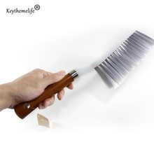 Keythemelife Wooden handle Cleanning Brush Sofa sheets Bed brush Dusting brush Kitchen Bathroom Home Cleaning Accessories B4