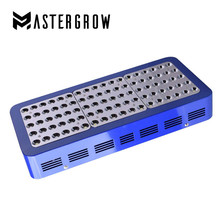 MasterGrow 900W Full Spectrum Double Chip LED Grow Light Red/Blue/White/UV/IR With Electroplated Reflectors For All Indoor Plant(China)