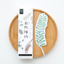 30PCs/Box Colorful Plant Paper Bookmark Card DIY Book Marks Message Cards Cute Stationery Office and School Supply