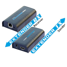 New 120m HDMI Extender Over Ethernet LAN RJ45 CAT5E CAT6 For HD 1080P DVD PS3 up to 120M with Power Adapter