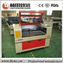 CO2 laser cutting machine 80W 9060 Laser cutting machine for plexigalss, colth, leather, photo engraving, bamboo
