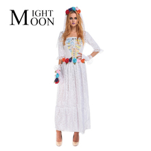 MOONIGHT Ghost Bride Costume for Women Adult Cosplay Fancy Dress Halloween Costume