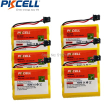 6 Pack  BT-905 Model Battery for Uniden Cordless Home Phone Replacement BT905 3.6V NI-CD AA*3 800mAh PK-0030