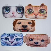 Cat pencil cases Plush estuches school 3D kalem kutu pencilcase estojo escolar menina kalem kutu material escolar pen bag