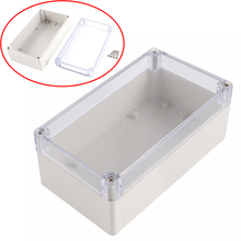 1pc Waterproof Plastic Enclosure Case Mayitr Clear Cover Electronic Project Instrument Box 158mmx90mmx60mm(China)