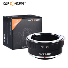 Buy K&F Concept PK-FX Camera Lens Mount Adapter Ring Pentax PK lens Fujifilm FX Mount Camera Adapter Fuji X-Pro1 X-E1 X-M for $21.29 in AliExpress store