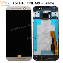 "100% tested 5"" HTC ONE M9 LCD Touch Screen HTC ONE M9 Display Digitizer Assembly Replacement Parts M9E M9W(China)"