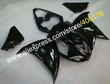 Hot Sales,For Yamaha 2009 2010 2011 YZF-R1 09 10 11 YZFR1 YZF R1 YZFR1000 All Black Bodywork Fairing Kits (Injection molding)(China)