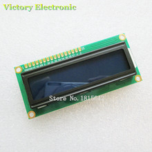 LCD1602 LCD monitor 1602 5V Blue Screen White Code Blacklight 16x2 Character LCD Display Module HD44780 1602A Wholesale(China)