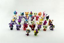 10-1000pcs Littlest Movie Loose Pet Toys Anime Action Figure For Children Pet Shop Cat Model Figurines Shop For Kids Collection