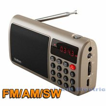 Rolton T50 Radio Speaker Portable World Band FM/AM/SW Radio Mp3 Music Player TF Card WAV Play Speaker And Flashlight for PC iPod