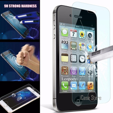 Pelicula de vidro Sklo tempered glass Screen Protector Protective for iphone 5 5S 5C SE 4 4S 6 6S 7 plus glas case capa coque(China)