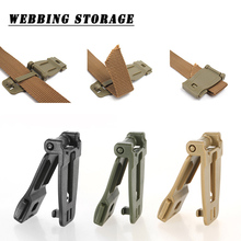 12pcs Outdoor Molle Buckle Clip Strap Webbing Buckle Camping Bag Military Backpack Accessory Elastic Rope Carabiner Connector